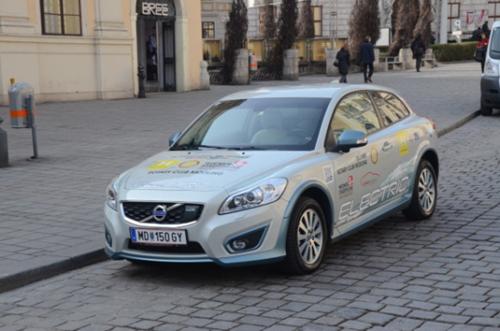 E-Volvo von vorne