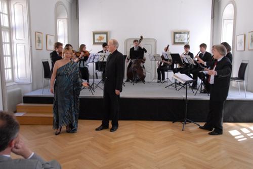 Die Angelika Prokopp-Sommerakademie bei der jährlichen Frühlingsmatinée.