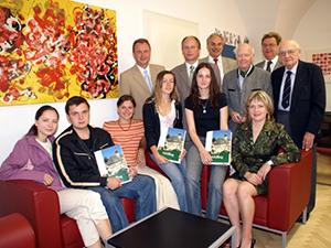 6 StudentInnen aus Lemberg besuchten Mödling