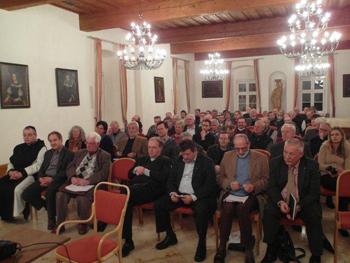 Podiumsdiskussion, Foto Publikum